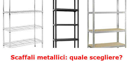 scaffali metallici cantina garage box