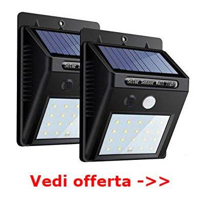 lampade esterno solari da appendere